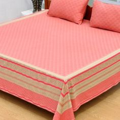 Sharrate provides premium range of luxury bedsheets where you get unique taste of collection for your bed rooms. Luxury Bed Sheets, Bed Sheets Online, Buy Bed, Bed Sheet Sets, Woven Fabric, Bedroom, Pink, Stuff To Buy, Furniture