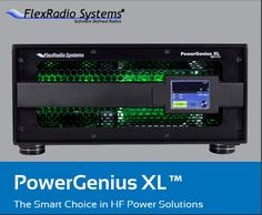 PowerGenius XL – RF amplifier [ Brochure and Video ] Basic Software, Ham Radio, Electrical Engineering, Electronics, Radios, Projects, Computers, Log Projects, Blue Prints