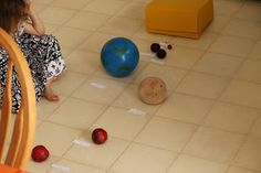 Montessori Beginnings: The Solar System Part 1