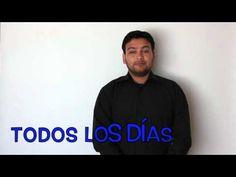 Expresiones Parte III Lengua de Señas chilena - YouTube