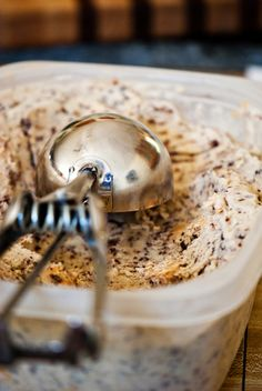 BANANA BREAD ICE CREAM @Ellie Kuennen, this made me think of you;)