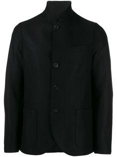 HARRIS WHARF LONDON HARRIS WHARF LONDON SINGLE BREASTED BLAZER - 黑色. #harriswharflondon #cloth