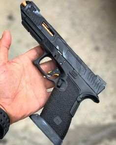 Custom Glock, Custom Guns, Tactical Pistol, Tactical Gear, Assault Weapon, Lethal Weapon, Glock Stippling, Revolver, Glock Mods