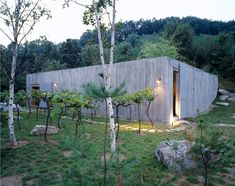 Concrete Box house by BCHO Architects.