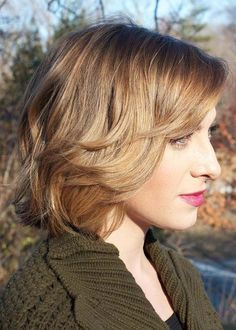 Cute Layered Bob Haircuts for Fine Hair