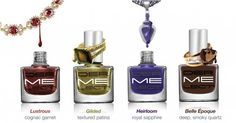 Dermelect is launching it's new Bejewled Nail Polish Collection inspired by precious gems like quartz and sapphire