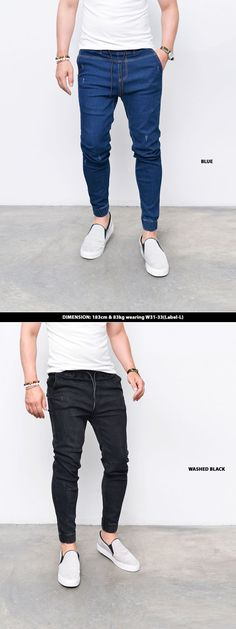 Re) Slim Semi Baggy Denim Jogger-Jeans 245 - GUYLOOK