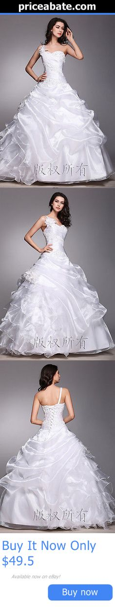 Wedding Dresses: New A-Line White Ivory Wedding Dress Bridal Gown ...