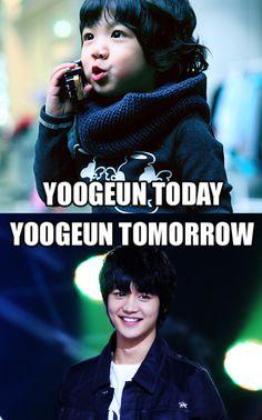 YooGeun (Hello Baby) and MinHo (SHINee) macro