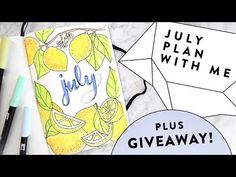 2017 JULY Bullet Journal Update + (closed) GIVEAWAY! | Plan with Me Bujo FlipThrough | Miss Louie - YouTube