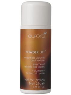 Eufora Powder Lift Review: Allure.com   This stuff is amazing.  Bring on the big hair.
