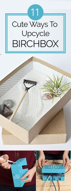 11 Cute Ways To Upcycle Old Birchboxes