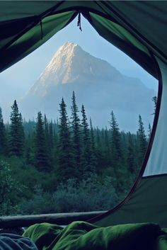 Mt. Robson Tent View, Stephen Walasavage