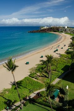 Ka'anapali Beach, Maui - the Kaanapali Beach Hotel is in a great location and very reasonable!