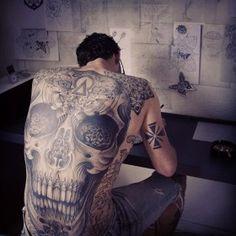 Skullspiration Skull Tattoo By Jondix Goodness