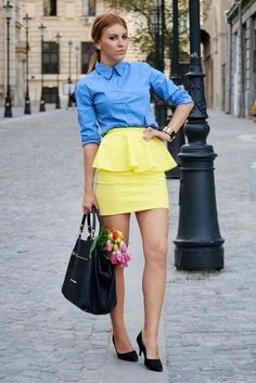 nice How to Wear Peplum