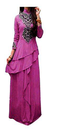 Kaftan maxi dress terbaru di