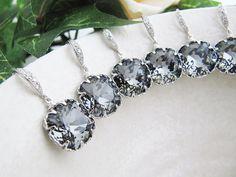so cute - bridesmaids jewelry?