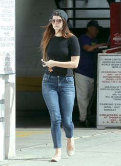 Lana in Los Angeles yesterday (Apr. 26, 2017)