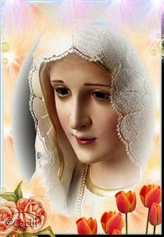 ® Blog Católico Gotitas Espirituales ®: VIRGEN DE FÁTIMA Pictures Of Jesus Christ, Lady Of Fatima, Christian Love, Sainte Marie, Jesus Art, Blessed Virgin Mary, Blessed Mother, Mother Mary, Spirituality