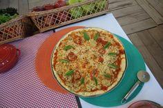 pizza vegana sem glúten