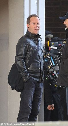 Kiefer Sutherland was seen shooting scenes for Live Another Day – In London on Monday – January 27, 2014