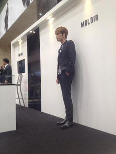 140321 Kim Jaejoong at Moldir Pop-Up Shop At Lotte Department Store in Busan