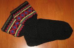 Silmukat ristissä: Lapin sukat