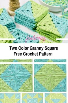 Two Color Granny Square For Multiple Design Possibilities - Knit And Crochet Daily