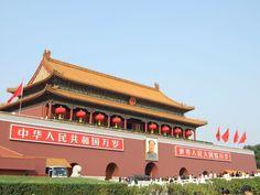 Plaza de Tiananmen  Fotografía: Agente Europamundo Beijing, China, Plaza, The Good Place, Mansions, Nice, House Styles, Travel, The Neighbourhood