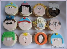 Southpark Cupcakes - by Cupcakecreations @ CakesDecor.com - cake decorating website