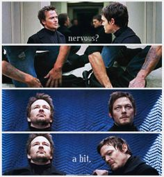 Sean Patrick Flanery/Connor and Norman Reedus/Murphy - The Boondock Saints