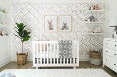 6 Adorable Bunny themed Nurseries — Alphadorable | Custom nursery art and decor