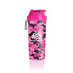 PINK CAMOUFLAGE Shaker Bottle Fitness/Bodybuilding/Health