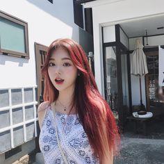 -ˏˋ 💋 ˊˎ- ➷ulzzang ღ girls➶ Girl Korea, Asia Girl, Korean Face, Korean Girl, Korean Beauty, Asian Beauty, Uzzlang Girl, Grunge Girl, Colored Highlights