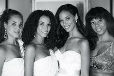Donna Summer's daughters Brooklyn Sudano Natalia 'Mimi' Dohler and Amanda Sudano