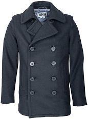 Schott 751 Slim Fit Fashion Wool Peacoat