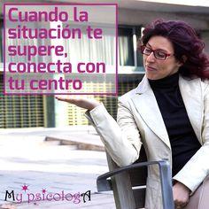 Pero, ¿cómo puedo conectar con mi centro? En el post de esta semana os lo explico  #psicologia #equilibrio #emociones #coaching #crecimientopersonal #autoayuda #coachingpersonal #coachingemocional