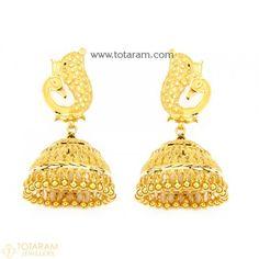 Markings For Gold Jewelry Code: 9245527565 Indian Gold Jewellery Design, Gold Temple Jewellery, Indian Bridal Jewelry Sets, Jewelry Design, Silver Jewellery, Gold Chandelier Earrings, Gold Drop Earrings, Women's Earrings, Gold Necklace