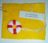 Girl Scout Swaps- lifesaver candy..