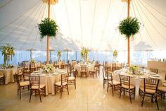 Brides: An Elegant Clubhouse Wedding in Bridgehampton, New York
