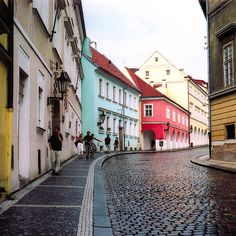Dreaming of Prague in the rain