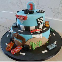 Cars cake -- Disney cakes