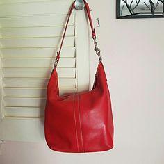 Coach vintage red purse $60