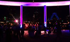 Austin Texas Event, Uplighting,  Outdoor Lighting, Stage Lighting, Intelligent Lighting Design, ILD Lighting,