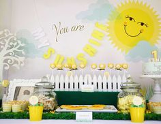 You Are My Sunshine 1st Birthday