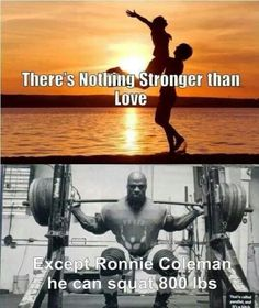 The only thing stronger than love...#squat #squatlife #squatsfordays #squatbooty #gym #grind #swole #gains #love