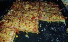 Lepšiu pizzu sme nemali ani z donáškovej služby. My Favorite Food, Favorite Recipes, Pita Pizzas, Lasagna, Quiche, Zucchini, Side Dishes, Food And Drink, Meals