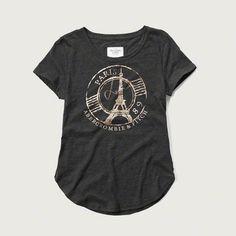 Paris Shine Graphic Tee