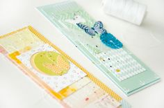 DIY Scrap Paper Bookmark. A great gift that kids can make too!